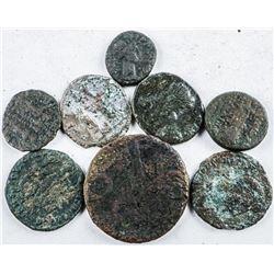 Group (8) Estate Ancient Roman Coins