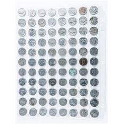 Lot (88) USA Nickels