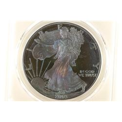 2003-W AMERICAN SILVER EAGLE PCGS UNC DETAILS