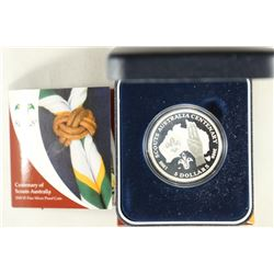 2008 AUSTRALIAN PROOF FINE SILVER $5 CENTENARY
