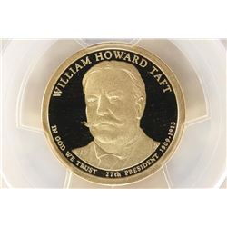 2013-S WILLIAM H. TAFT PRESIDENTIAL DOLLAR PCGS