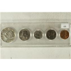 1966 US YEAR SET WITH 40% SILVER JOHN F. KENNEDY