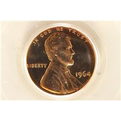 1964 LINCOLN CENT PCGS PR68RD