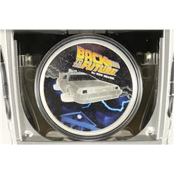 2015 BACK TO THE FUTURE 1 OZ. SILVER PROOF COIN