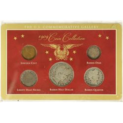 1909 COIN COLLECTION CONTAINS: LINCOLN CENT,