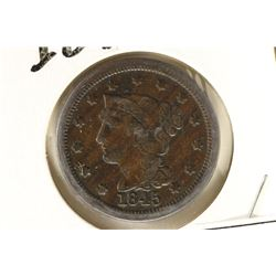 1845 US LARGE CENT (FINE)