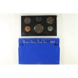 1971 US PROOF SET (WITH BOX)