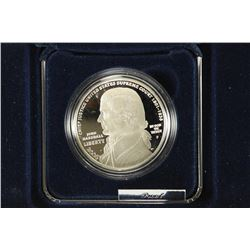 2005 CHIEF JUSTICE JOHN MARSHALL PROOF SILVER
