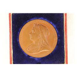 1837-1897 -2 3/16'' GREAT BRITAIN 60TH DIAMOND