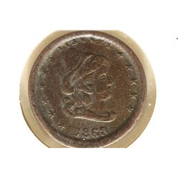 1863 CIVIL WAR TOKEN OUR ARMY
