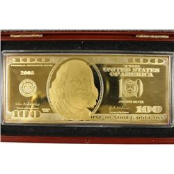 2008 $100 GOLDEN PROOF, 1 FULL OZ. OF .999 PURE