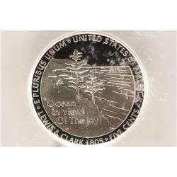 2005-S OCEAN IN VIEW NICKEL ICG PR70 DCAM