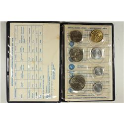 1979 COINS OF ISRAEL OFFICIAL UNC SET