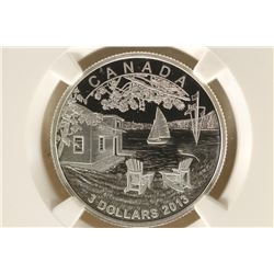2013 CANADA MARTIN SHORT'S SUMMER HOME SILVER