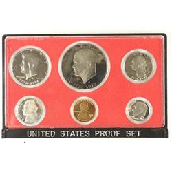 1976 US PROOF SET (WITHOUT BOX) AND MISSING HARD
