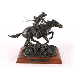 The Winchester Rider Bob Scriver Bronze Sculpture