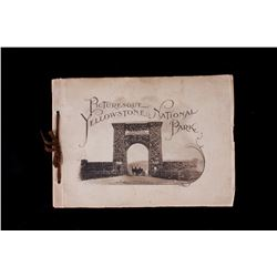 Rare Picturesque Yellowstone National Park Book