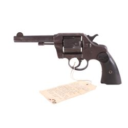Colt Model 1889 SF Police Chief W. Biggy Revolver