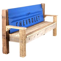 1967-72 Chevrolet Tailgate Montana Barn Wood Bench