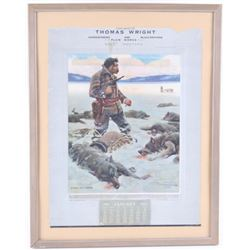 1913 Belt Montana Wyeth Advertising Calendar