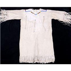 Montana Crow Beaded Women's Dress c. 1950