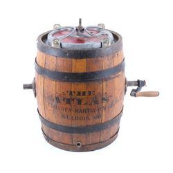 The Atlas Crunden- Martin Co. Butter Churn Barrel
