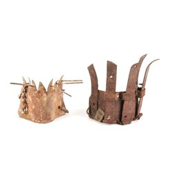 Montana Ranch Calf/ Cattle Weaning Halter Masks