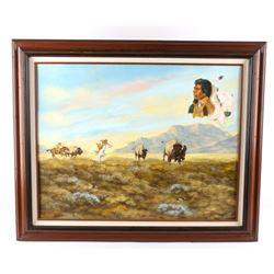 Ron Reme Original Framed Oil Painting 1987