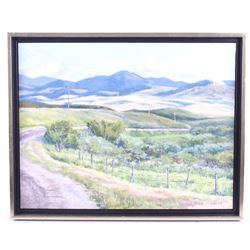 Therese LaChance Ely Backroad To Lewistown Art