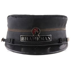 Early Northern Pacific Railroad Brakeman Cap