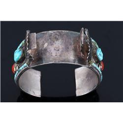 Navajo Old Pawn Royston Turquoise Bracelet