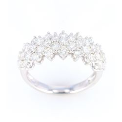 Diamond Set Brand-New 18K Gold Ring
