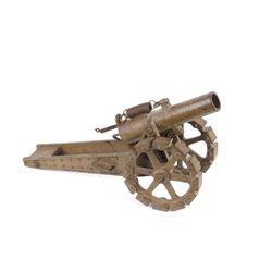 """WWI Era French 10"""" Tracked Howitzer Model"""