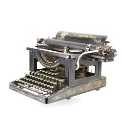 L.C. Smith & Bros No. 3 Typewriter Circa 1920's