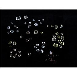 78.86 Cts of Loose & Faceted Quartz Gemstones