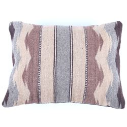 Montanas Marrones Churro Wool Pillow by E. Reyna