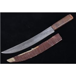 Plains Indian Russell Green River Works Knife