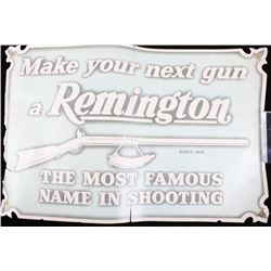 Late 1800's Paper Remington Store Advertising Sign