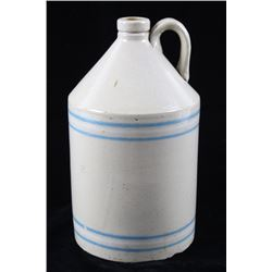 Early 1900s R.C.P. Co. Akron Stoneware Pottery Jug