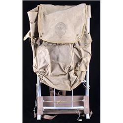 Boy Scouts of America Metal Frame Canvas Backpack