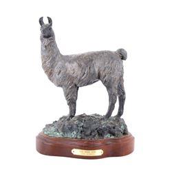 Original Carol Newbury Bronze, The Herd Sire