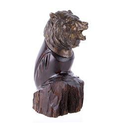 "Original Clark Bronson ""Grizzly Bust"" Bronze"