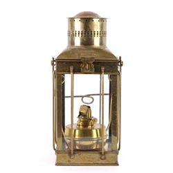 Sherwoods LTD Birmingham--Ships Brass Oil Lantern