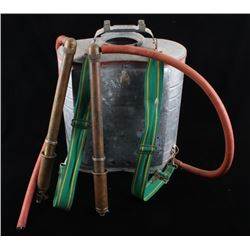 Indian Air Cooled Metal Water Hand Pump Backpack