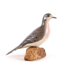 Christensen Carved & Signed Mourning Dove