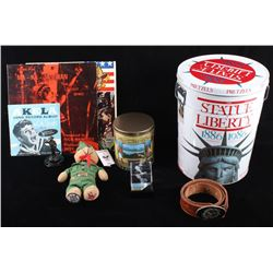 Boy Scout Pretzel Tins & Assorted Memorabilia