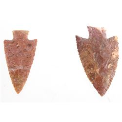Early Archaic Hardin 6000 - 9000 BP Pair of Points
