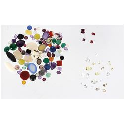 Collection of Mixed Cut & Size Precious Gemstones