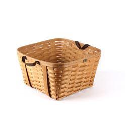 Peterboro Basket Co. Est. 1854 Birch Woven Basket
