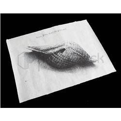 """Alien: Covenant David """"Shell"""" Artwork"""
